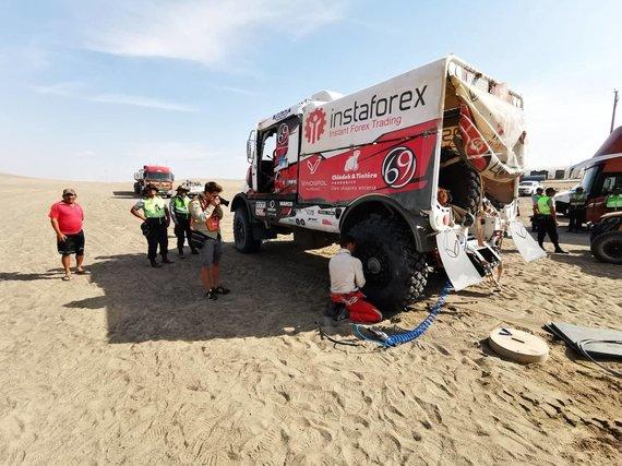 Žilvino Pekarsko nuotr./Trečioji Dakaro diena