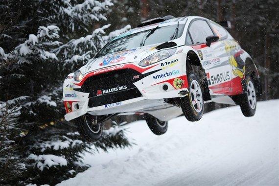 """Giedriaus Matulaičio nuotr./""""Winter Rally"""""""