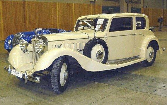 "M.v.Volante (CC BY-SA 3.0) | commons.wikimedia.org nuotr./""Hispano-Suiza"" kadaise gamino prabangius automobilius"