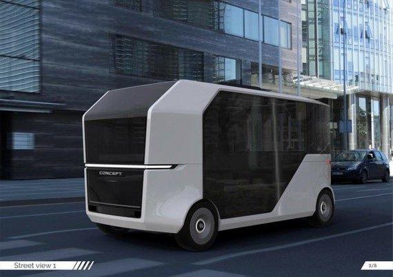 Gamintojo nuotr./Autobuso koncepcinis modelis