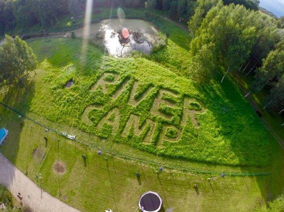Organizatorių nuotr./Festivalio vieta Kempingas River Camp