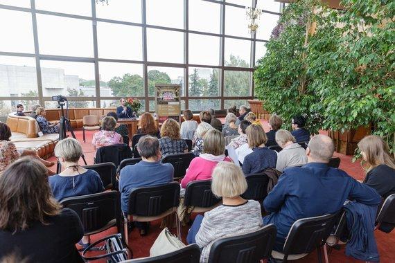 Josvydo Elinsko / 15min nuotr./Lietuvos nacionalinio operos ir baleto teatre vyko spaudos konferencija