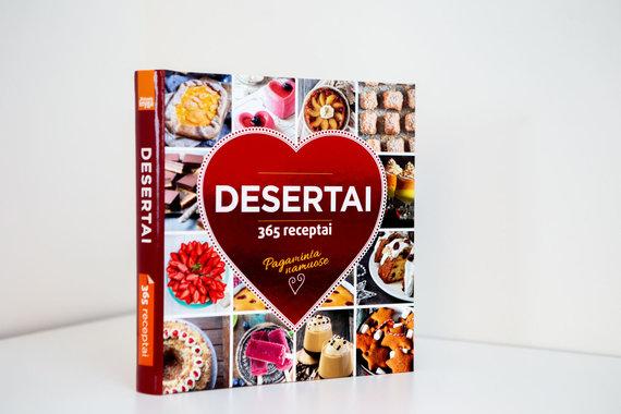 "Josvydo Elinsko / 15min nuotr./""Desertai. 365 receptai"""