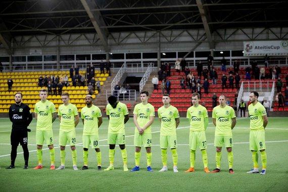 """Josvydo Elinsko / 15min nuotr./A lygos rungtynės: Vilniaus """"Riteriai"""" - Kauno """"Stumbras"""""""