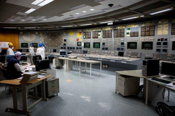 Josvydo Elinsko / 15min nuotr./Ekskursija po Ignalinos atominė elektrine