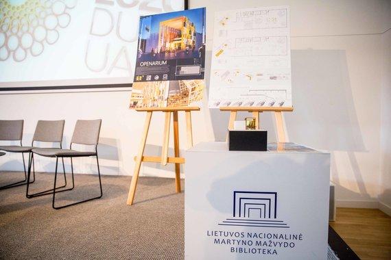 """Josvydo Elinsko / 15min nuotr./Pasaulinės parodos """"EXPO 2020"""" Lietuvos paviljono projektų pristatymas"""