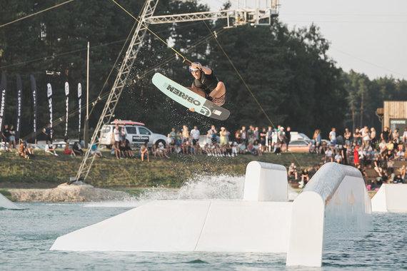 Asmeninio archyvo nuotr./Vandenlenčių sportas