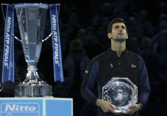 """""""Scanpix""""/AP nuotr./Novakas Džokovičius"""