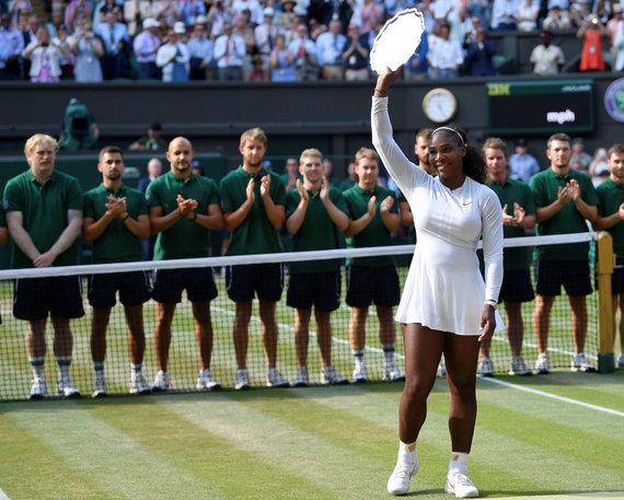 """Reuters""/""Scanpix"" nuotr./Serena Williams Vimbldone"