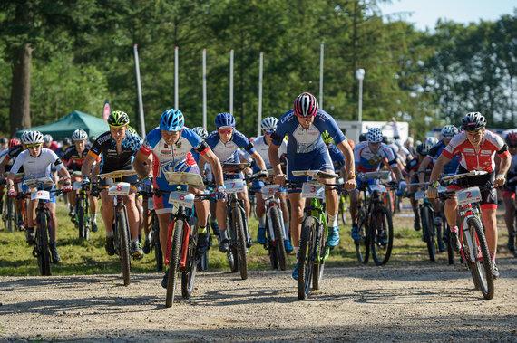 Organizatorių nuotr./Pasaulio orientavimosi sporto kalnų dviračiais čempionatas