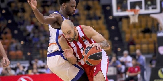 Euroleague.net nuotr./Vassilis Spanoulis