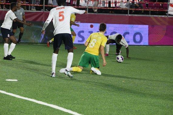 """Organizatorių nuotr./""""Socca"""" pasaulio mažojo futbolo čempionatas"""