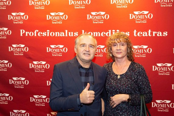 Martyno Siruso nuotr./Jurgis Kairys su žmona