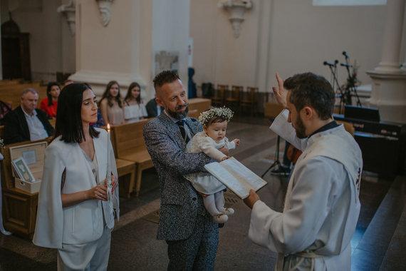 """""""Druska photography"""" nuotr./Irma Adomaitienė, Linas Adomaitis su dukra Saule"""