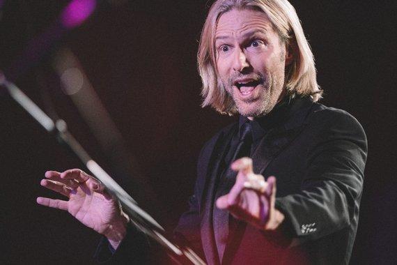 Organizatorių nuotr./Eric Whitacre