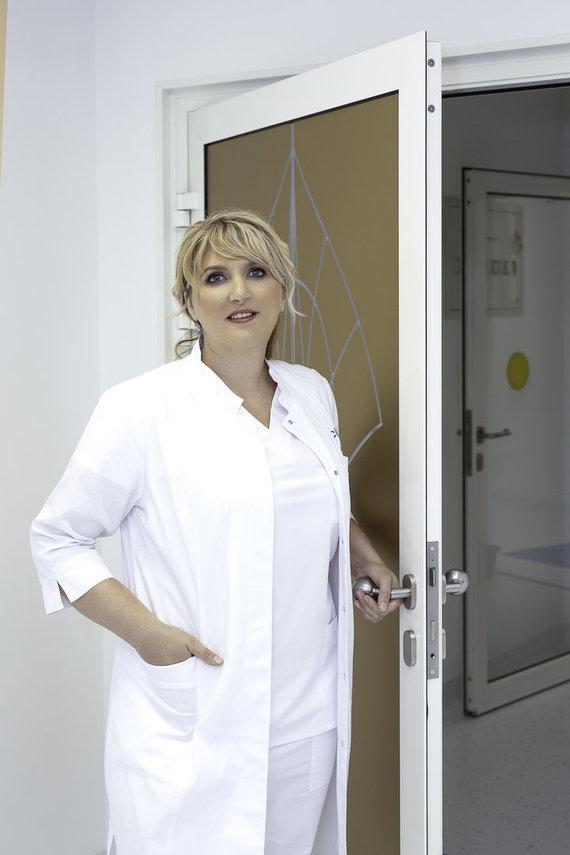 Organizatorių nuotr./Plastinės-rekonstrukcinės chirurgijos gydytoja dr. Inga Guogienė