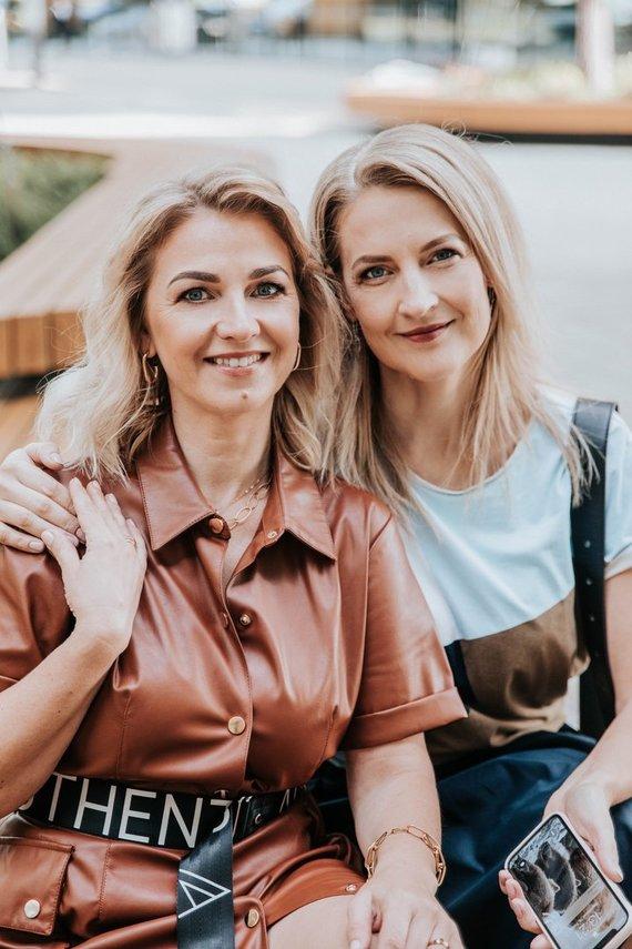 """""""Eko sesės"""" archyvo nuotr./Verslą """"Eko sesės"""" įkūrusios Inga ir Saulė"""