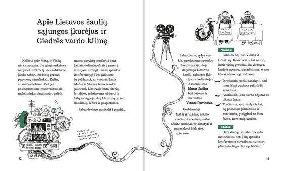 """Knygos atvartas/Norberto Černiausko knygos """"Apie šaulius, riterius ir drakonus Lietuvoje"""" atvartas"""