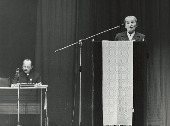 Caritas nuotr./Sesuo Albina Pajerskaitė