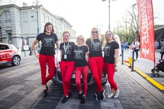 """Organizatorių nuotr./""""Girls Power"""" – """"Moterų ralio"""" nugalėtojos"""