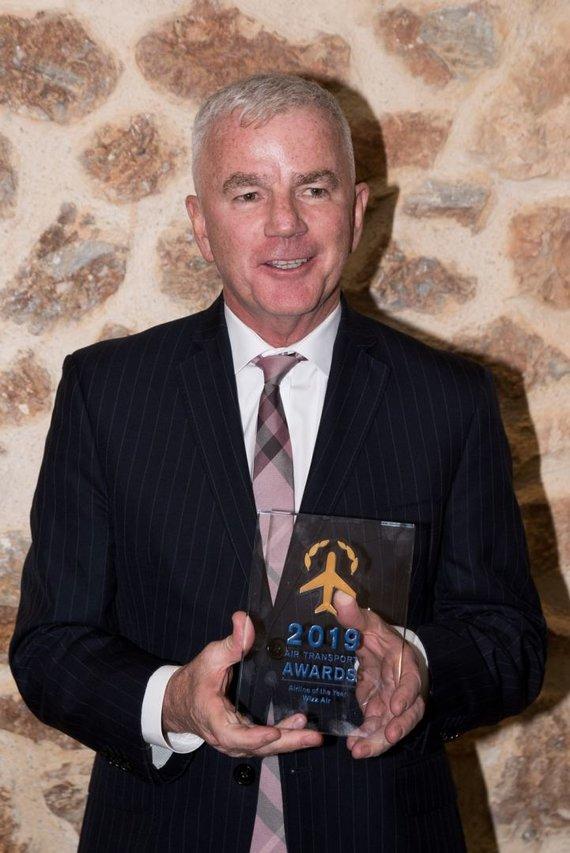 """""""Wizz Air"""" nuotr./""""Wizz Air"""" vykdomasis viceprezidentas ir direktoriaus pavaduotojas Stephenas Jonesas"""