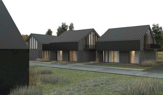 Lietuvos architektų rūmų nuotr./Poilsio namų Pervalkoje rekonstrukcija