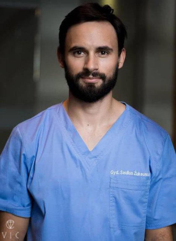 Asmeninio archyvo nuotrauka/Gyd. odontologas – burnos chirurgas Saulius Žukauskas
