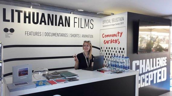 Organizatorių nuotr./Lietuvos paviljonas (Lithuanian pavilion) Kanų kino festivalyje