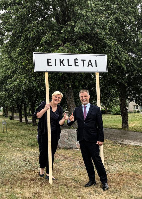 """Organizatorių nuotr./""""Eik lėtai"""": Daiva Kulienė ir Saulius Jauneika"""