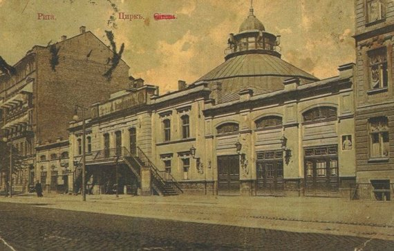 ru.wikipedia.org nuotr./Rygos cirkas 1911 metais