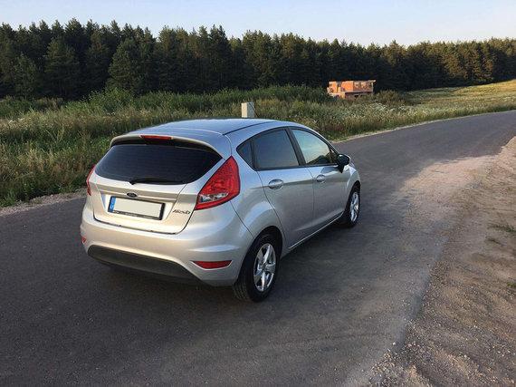 Mato Buzelio nuotr./Ford Fiesta