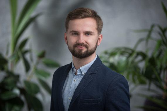 """asmeninio albumo nuotr./""""Ignitis"""" saulės elektrinių produkto vadovas Karolis Dargis"""