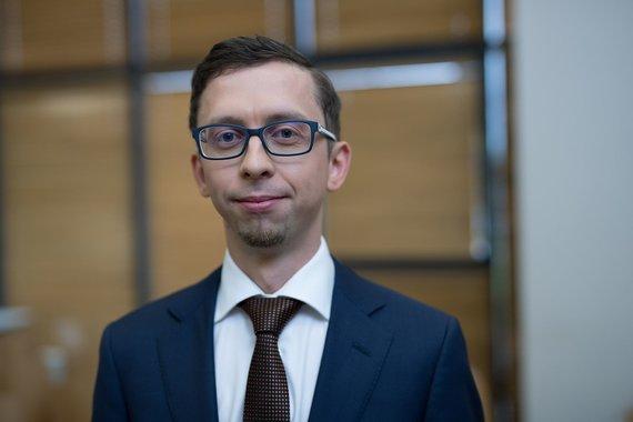 """Partnerio nuotr./UAB """"SEB investicijų valdymas"""" Investicijų valdymo grupės vadovas Ignas Pliuškys."""