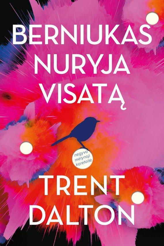 Knygos viršelis/Trent Dalton Berniukas nuryja visatą
