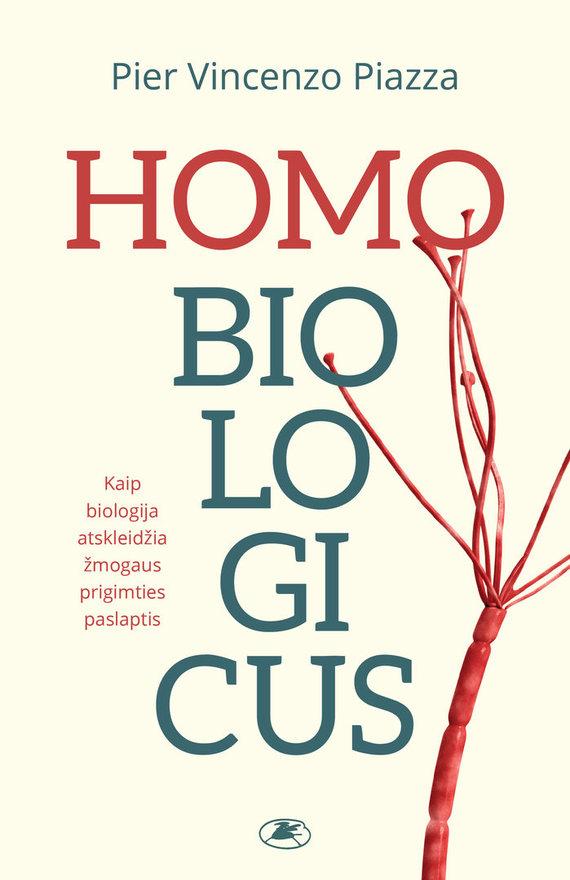 """Knygos viršelis/""""Homo Biologicus"""""""