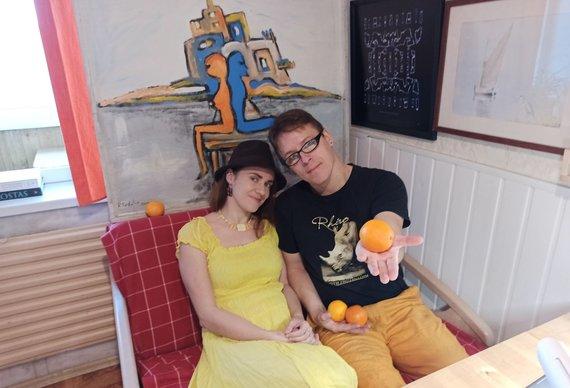 Asmeninio albumo nuotr./Judita Šmitaitė-Laurinavičienė, Nerijus Laurinavičius
