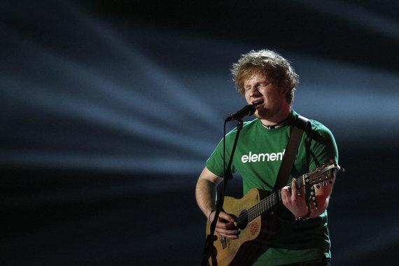 """Scanpix"" nuotr./Edas Sheeranas"