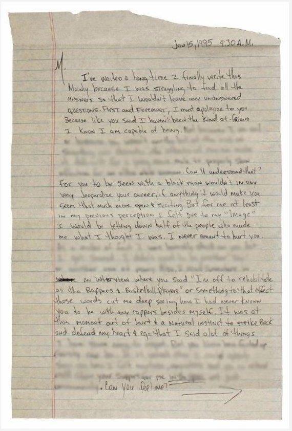 Vida Press nuotr./Parduodamas Tupaco meilės laiškas Madonna