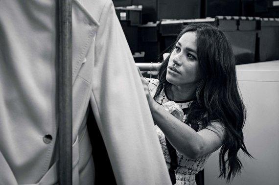 """Scanpix"" nuotr./Sasekso kunigaikštienė Meghan tapo Britanijos ""Vogue"" kviestine redaktore"