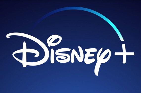 """Socialinių tinklų nuotr./""""Disney +"""" logotipas"""