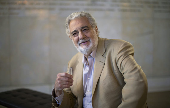 """Scanpix"" nuotr./Placido Domingo"