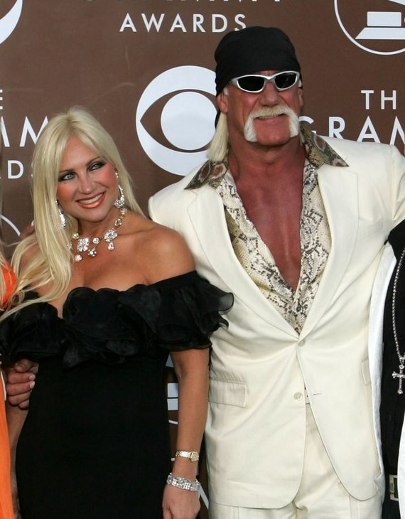 """Scanpix"" nuotr./Hulkas Hoganas ir Linda Hogan"