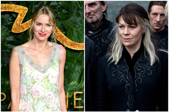 """Scanpix"" ir Vida Press nuotr./Naomi Watts ir Helen McCrory"