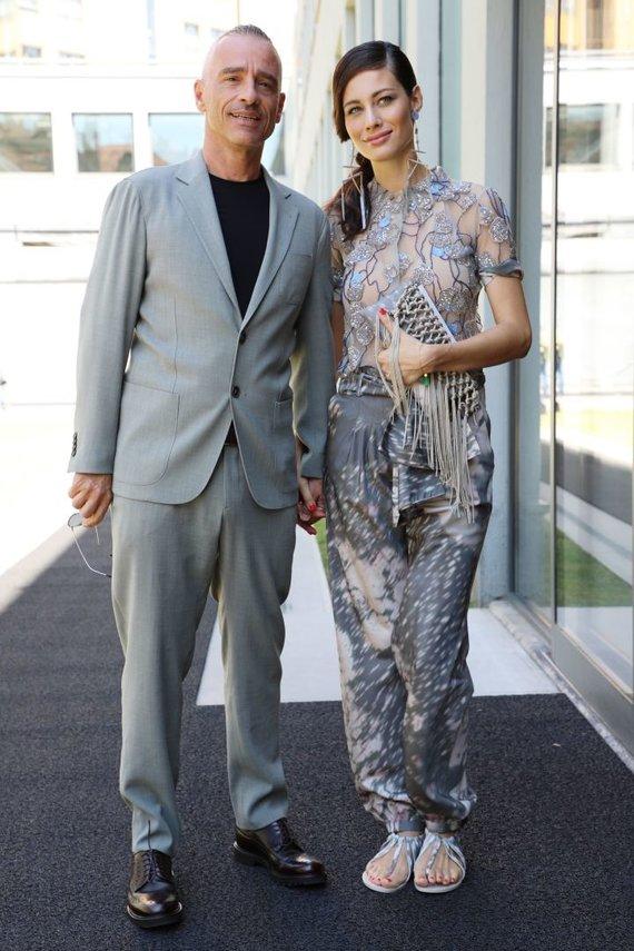 Vida Press nuotr./Eros Ramazzotti ir Marica Pellegrinelli
