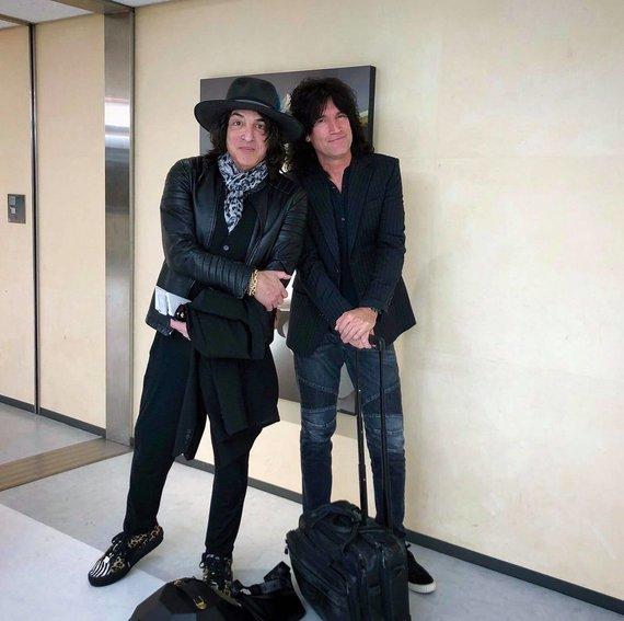 """Organizatorių nuotr./Grupės """"KISS"""" koncertinis vizitas Japonijoje"""