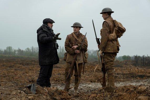 """Clinic 212 nuotr./Filmo """"1917"""" užkulisiai"""