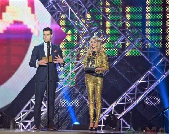 Organizatorių nuotr./M.A.M.A apdovanojimų akimirka