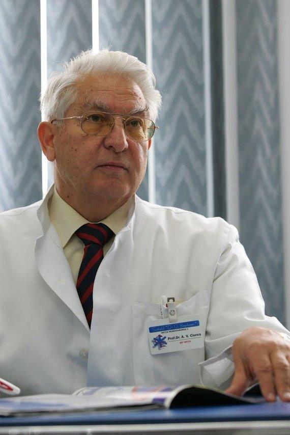 www.alexandruvladciurea.ro/A.V. Ciurea nuotrauka, pateikiama oficialiame gydytojo tinklalapyje
