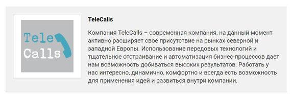"15min nuotr./""Telecalls"" darbo skelbimas internete"