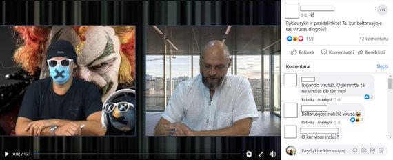 15min nuotr./Klaidinantis vaizdo įrašas socialiniame tinkle